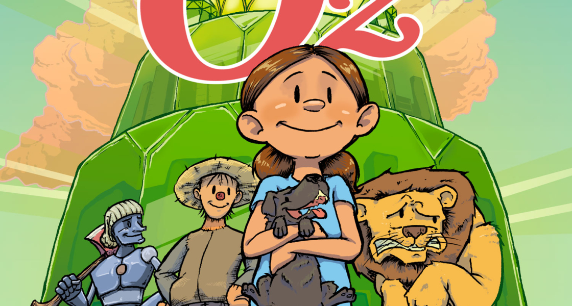Wizard Of Oz GN Cover